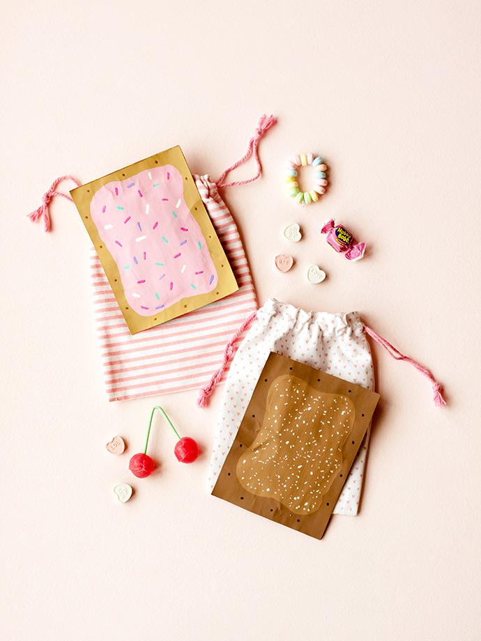Valentine Pop Tart Pouch