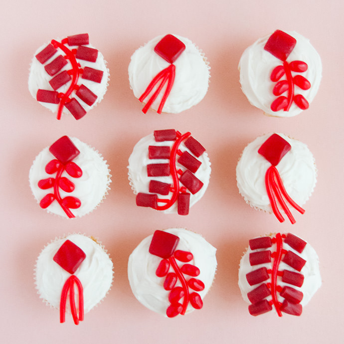 Lunar New Year Cupcakes