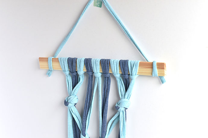 Kid-Friendly Macrame Wall Hanging