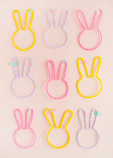 Pipe Cleaner Easter Bunnies