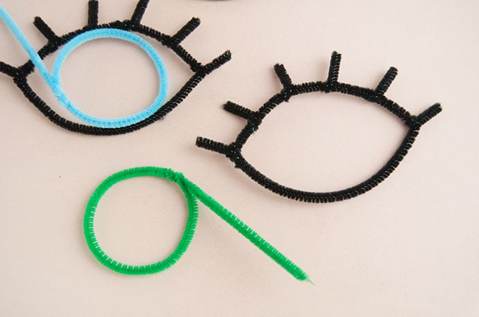 Pipe Cleaner Eye Charms