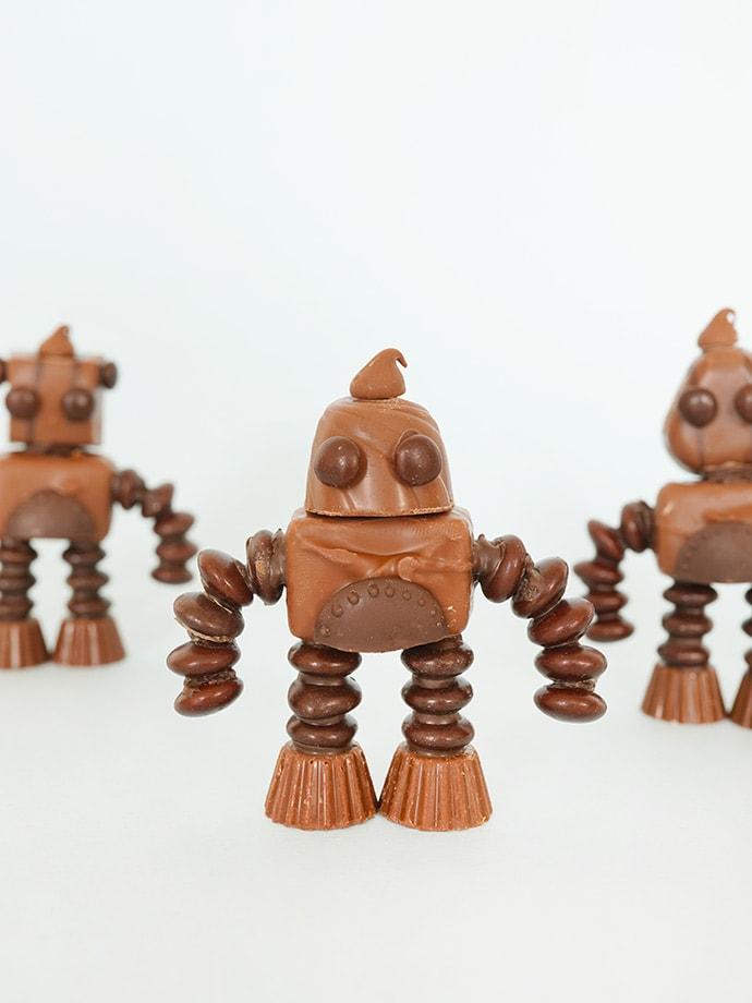 Mix and Match Chocolate Robots