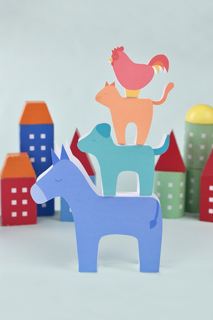 Make Your Own Zoo with these Animal Inspired Crafts