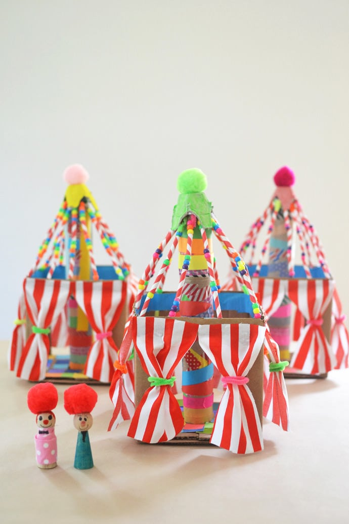 Circus Themed Crafts & Recipes For Kids