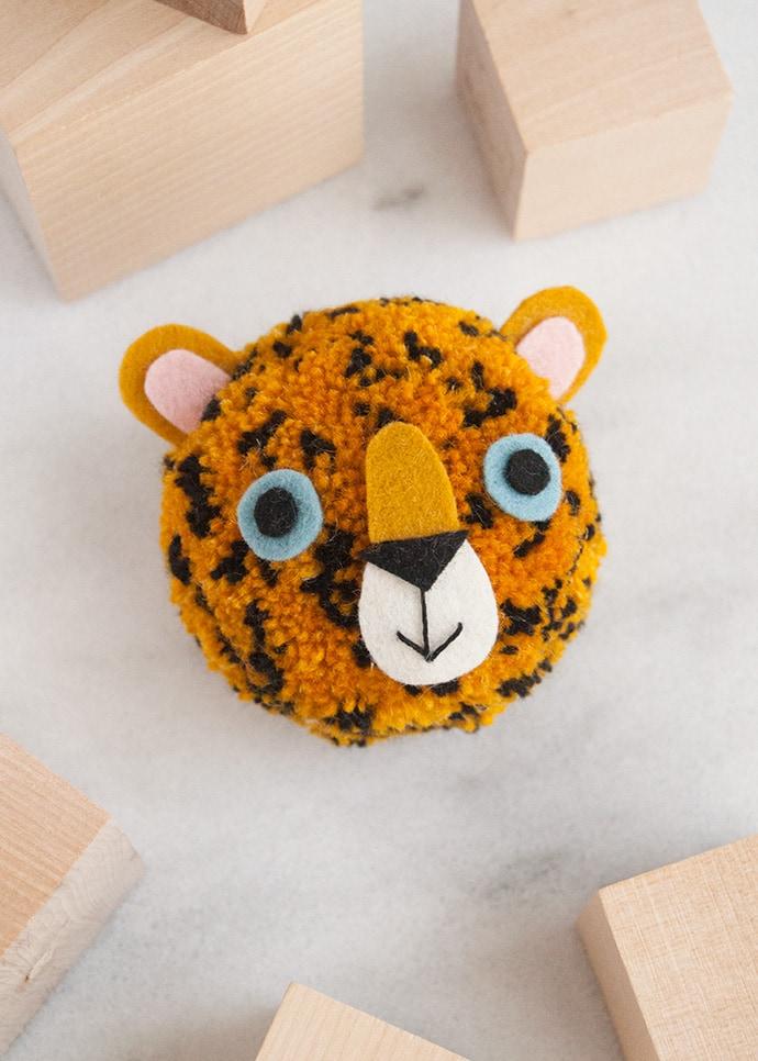 Amur Leopard Pom Pom