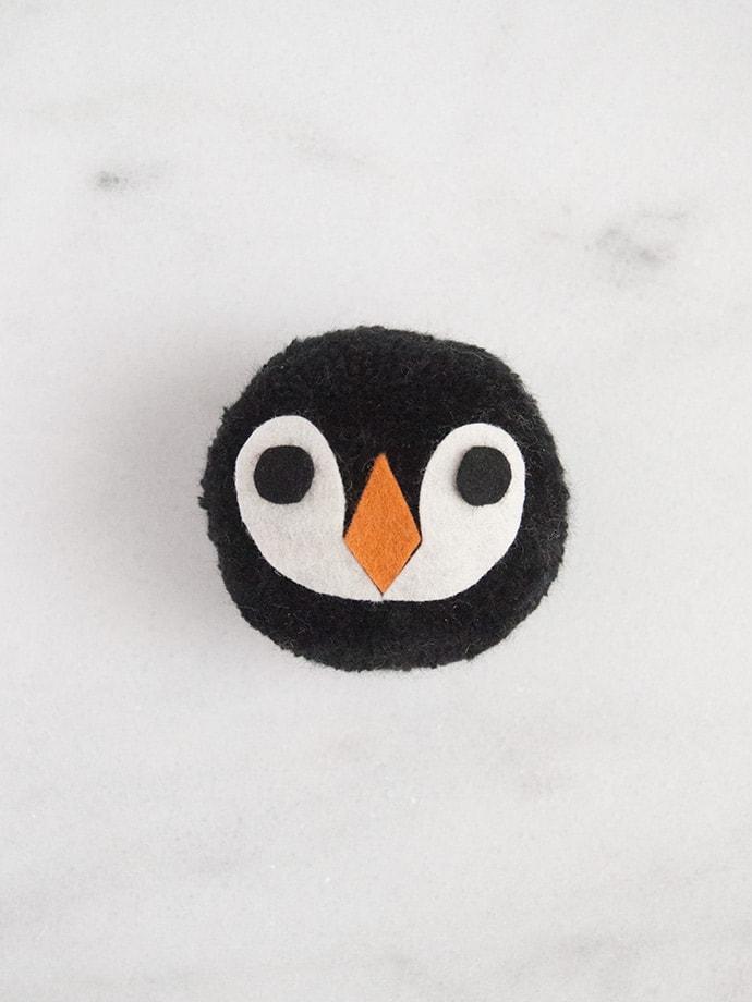 Galapagos Penguin Pom Pom