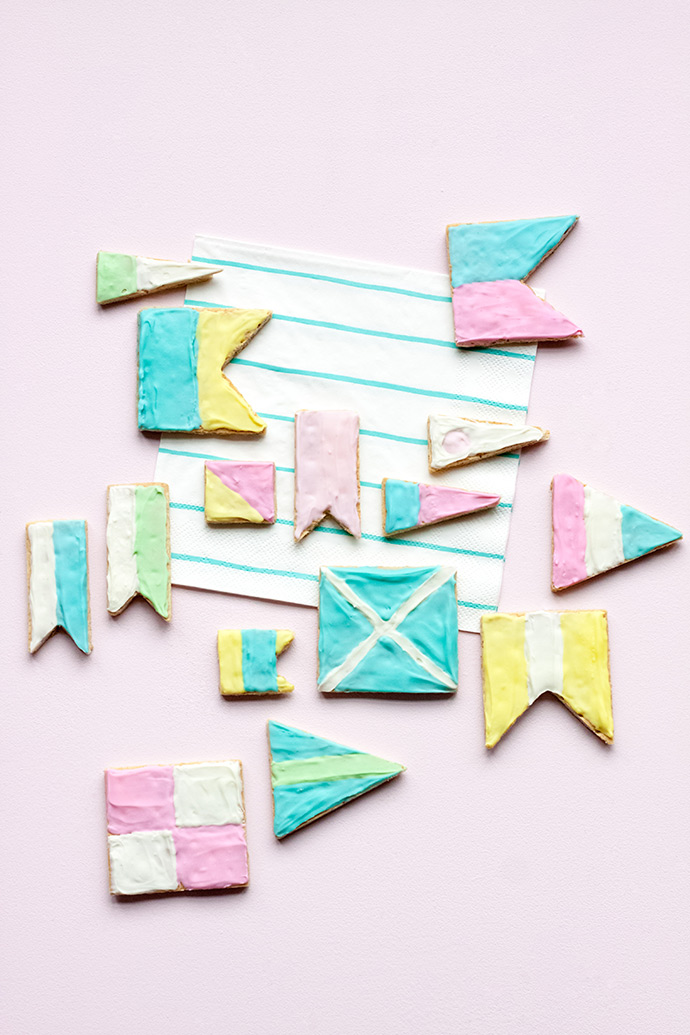 Nautical Flag Treats