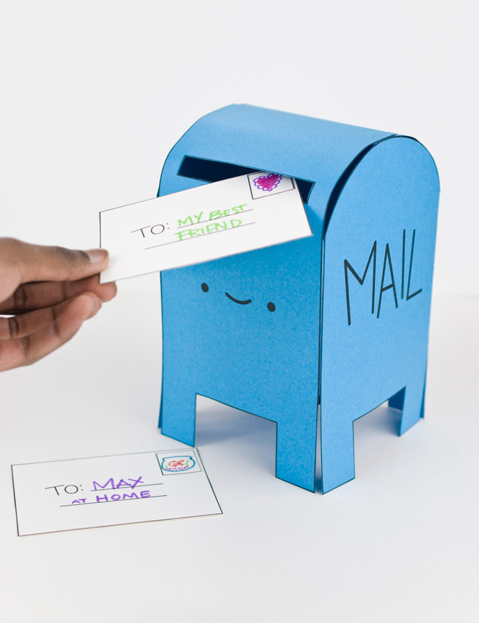 Snail Mail Crafts for Kids