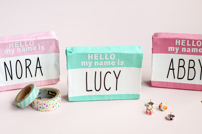 """Hello My Name Is"" Place Cards"