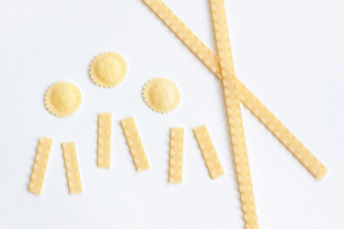 Pasta Noodle Prize Ribbons
