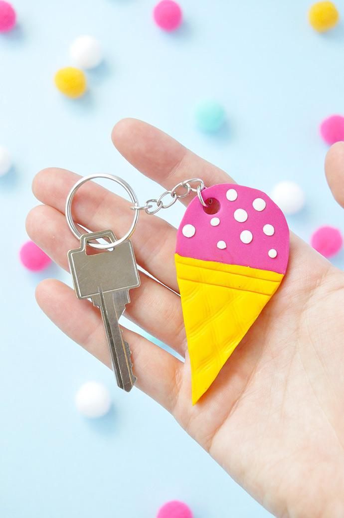 DIY Bestie Keychains