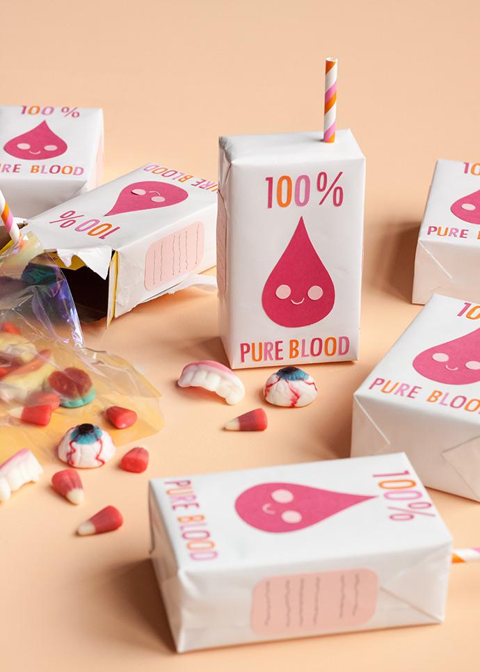 Blood Juice Favor Box