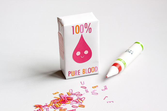 Blood Juice Favor Box