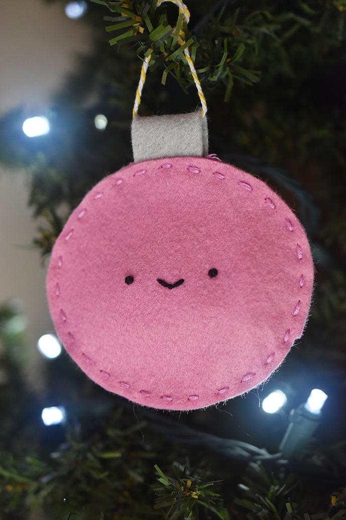Christmas Bauble Advent Pouches