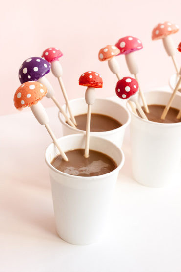 Toadstool Stir Sticks