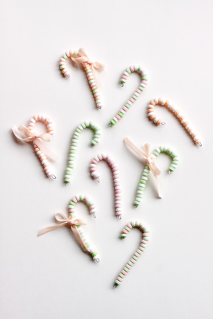 Candy Necklace Candy Canes