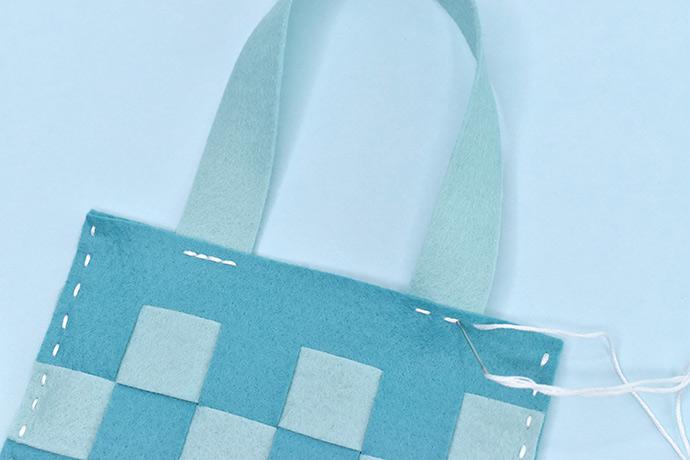 Woven Felt Gift Bag