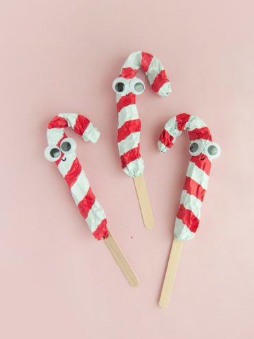Candy Cane Puppets