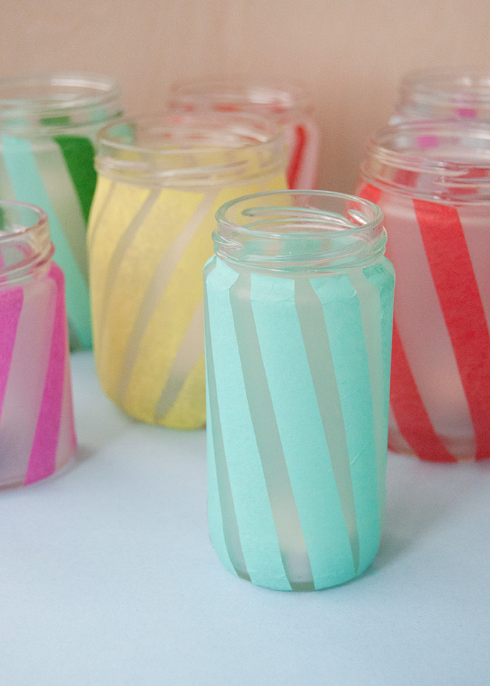 Upcycled Jar Votives