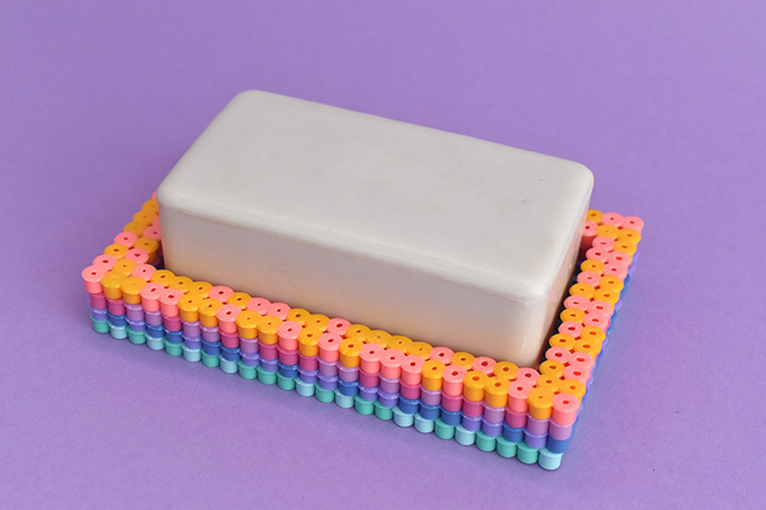 Perler Bead Soap Dish