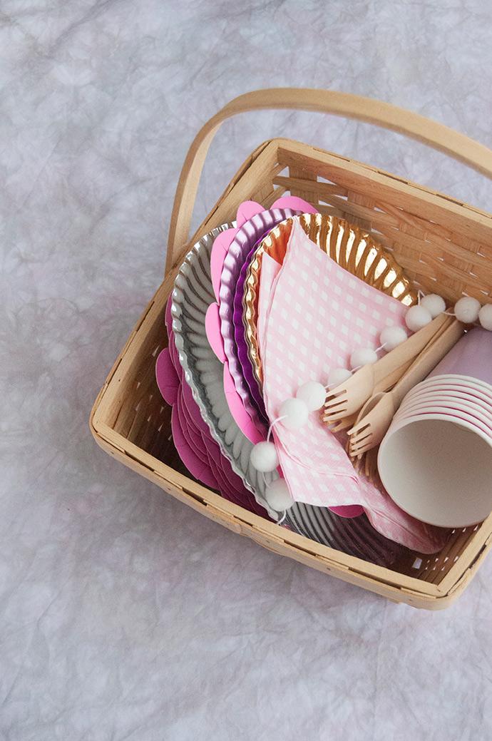 Tie Dye Indoor Picnic Blanket