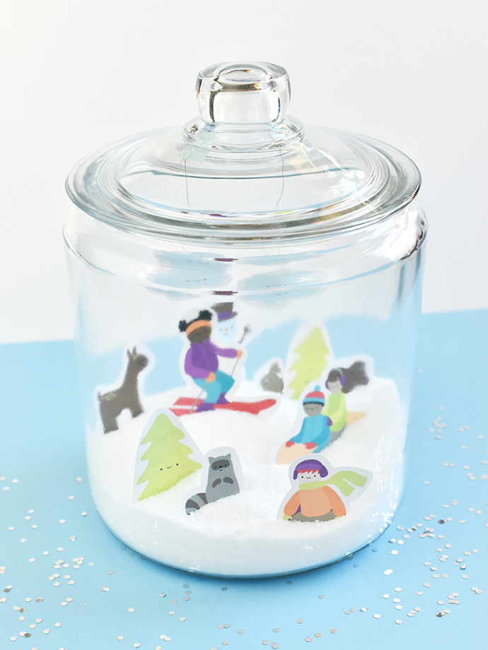 Snow Crafts To Do Indoors