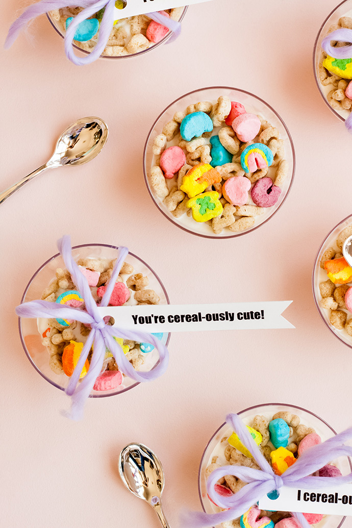 Cereal-sly Cute Valentine Treats