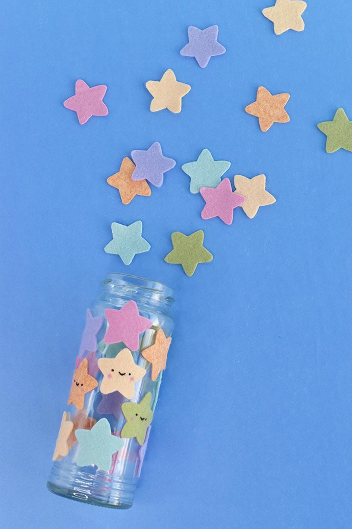 Kawaii Star Jar Night Light