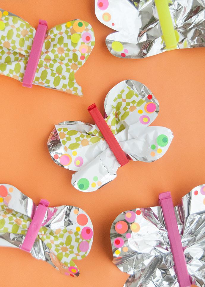 Chip Bag Butterflies