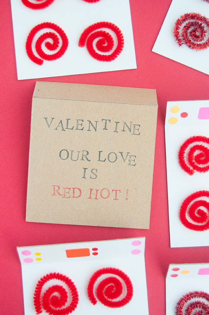 DIY Oven Valentines
