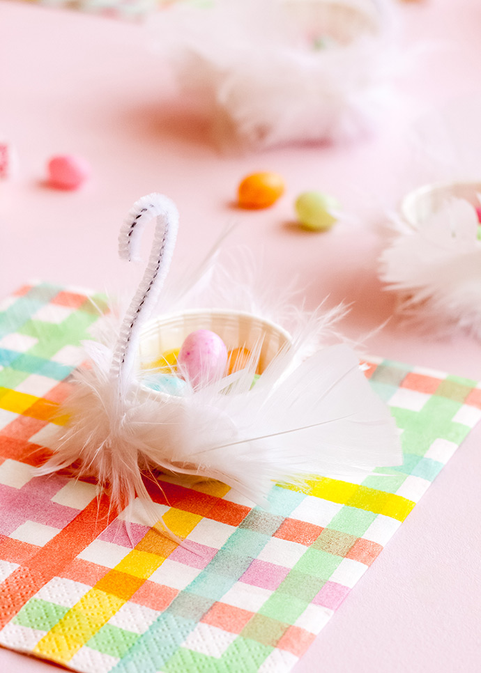 Swan Candy Cups