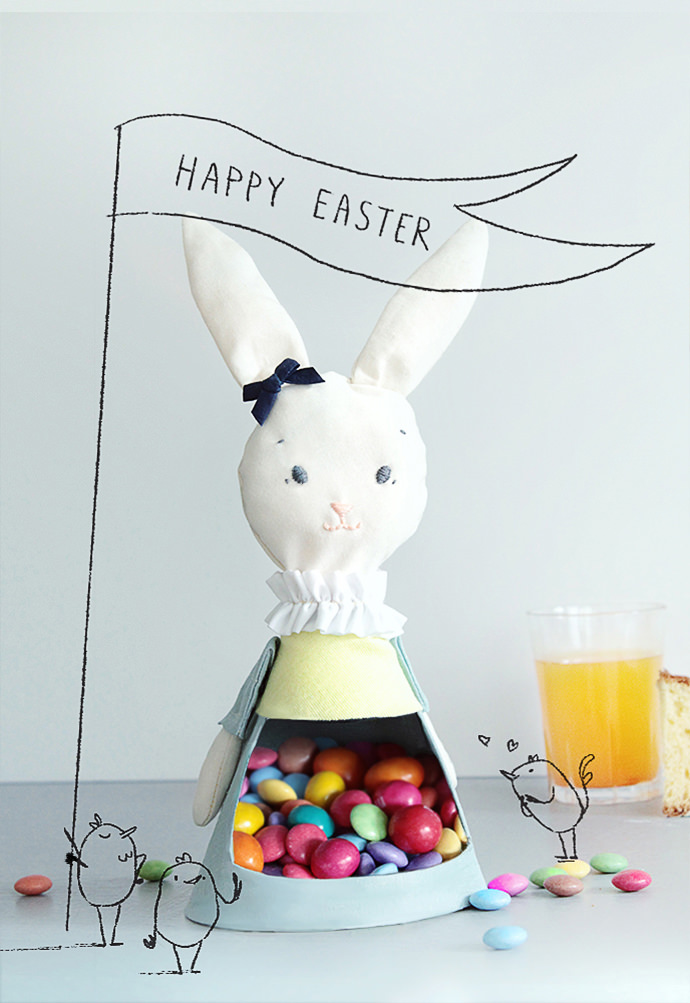 Bunny Crafts & Recipes for Easter