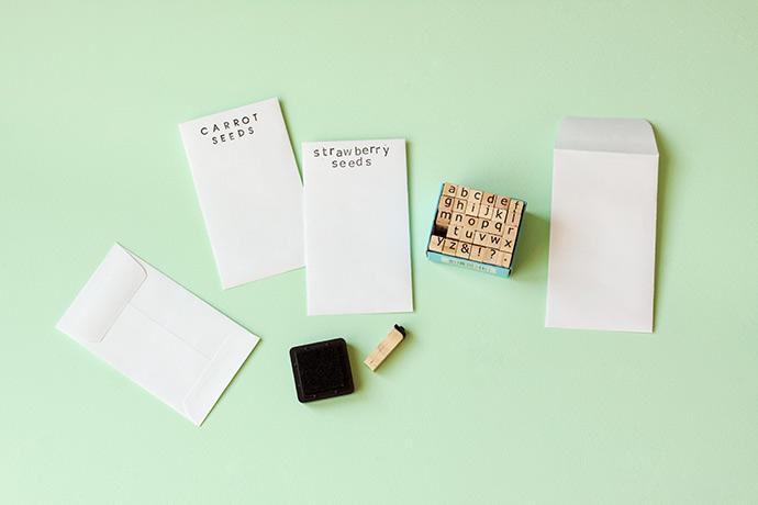 DIY Seed Packet Gift Card Holders