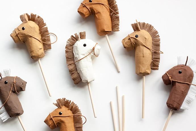 Mini Stick Horse Piñatas