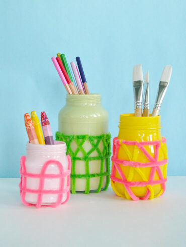 How to Craft with Recycled Jars
