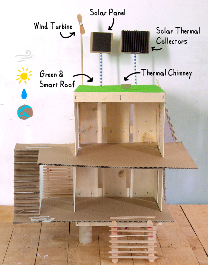 How to Make an Eco Dollhouse for Earth Day