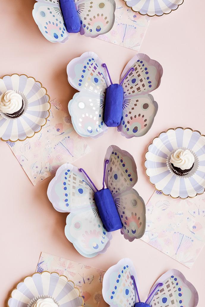 DIY Butterfly Piñatas
