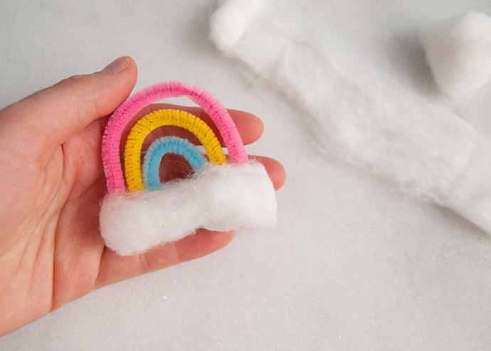 Rainbow Snow Globe Charms