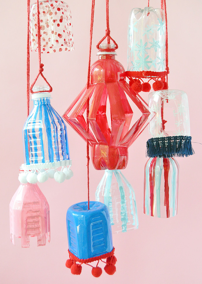 How To Craft with Plastic Water Bottles
