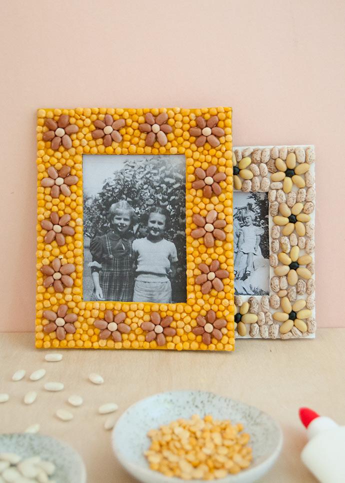 Bean Mosaic Frames