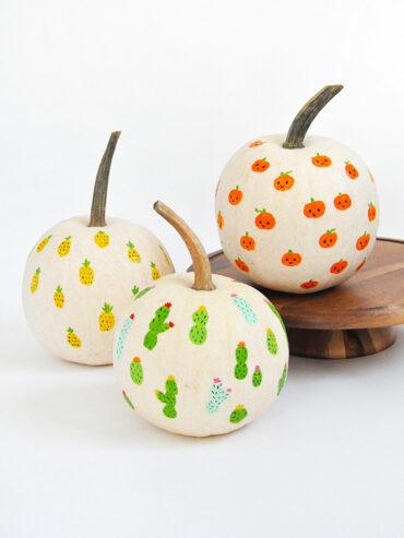 Last-Minute No-Carve Pumpkins